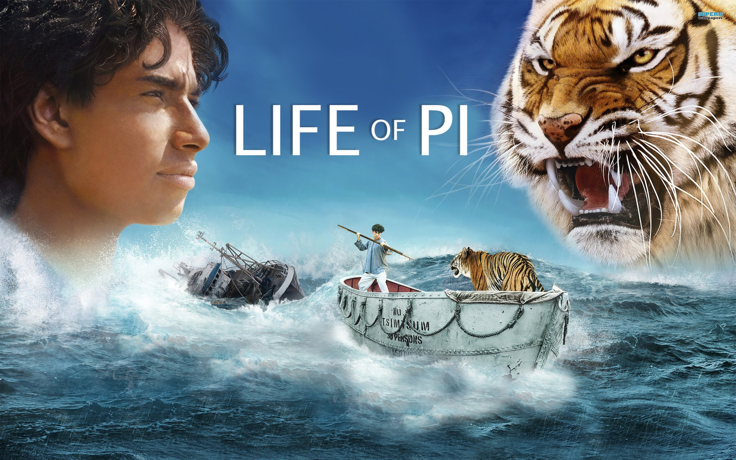 Life of pi movie wallpapers in jpg format for free download.