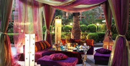Som3a Basha Tent at the Cairo Mariott Hotel, Zamalek.